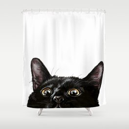 What's Up, Buddy Shower Curtain
