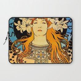 "Alphonse Mucha ""Sarah Bernhardt"" Laptop Sleeve"