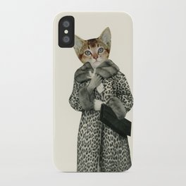 Kitten Dressed as Cat iPhone Case