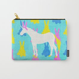 Bunny Unicorn Carry-All Pouch