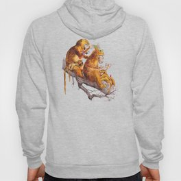 monkeys habits Hoody