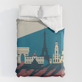 Paris - Cities collection  Duvet Cover