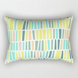 Terrazzo pastel overlay Rectangular Pillow