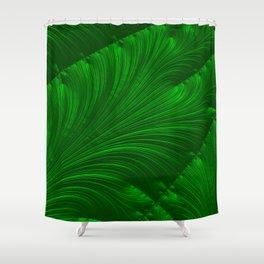 Renaissance Green Shower Curtain