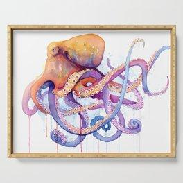 Octopus II Serving Tray