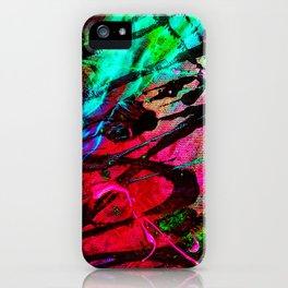 Controled caos iPhone Case