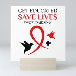 World Aids Day Mini Art Print