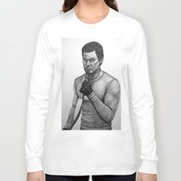 dexter Long Sleeve T-shirts featuring Dexter by Jack Kershaw