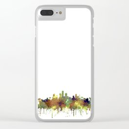 Honolulu, Hawaii SG - Safari Buff Clear iPhone Case