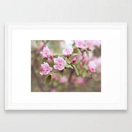 let your heart blossom Framed Art Print