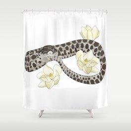 Harper with Magnolias Shower Curtain