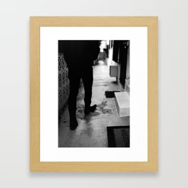 Just Hold On We're Going Home... Framed Art Print