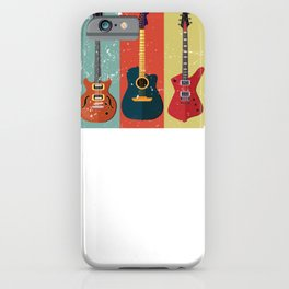 Bass Guitar Colorful iPhone Case