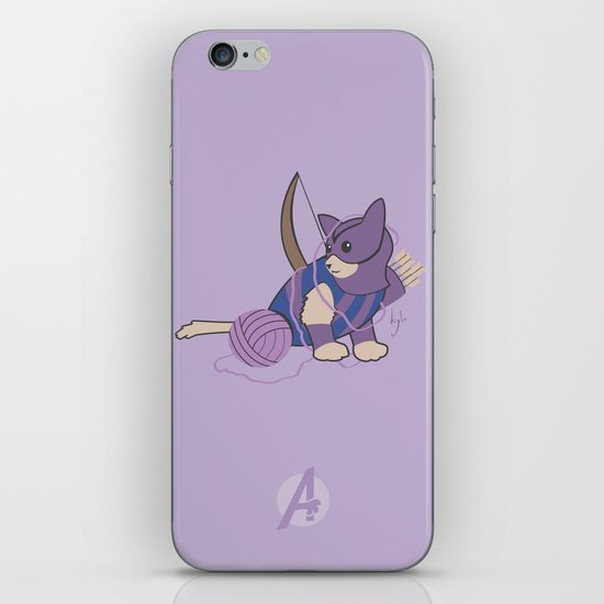 Cateye of the Catvengers iPhone & iPod Skin