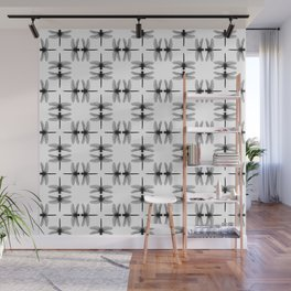 Dragon Fly Pattern Wall Mural