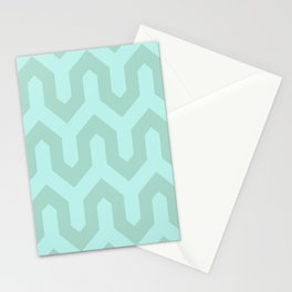 Light & Turquoise Stationery Cards