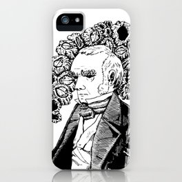 Darwin and His Barnacles iPhone Case