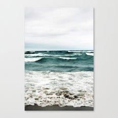 Turquoise Sea #1 Canvas Print