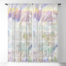 Sunrise of Sunset On Fire Sheer Curtain