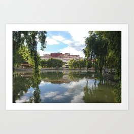 Potala Palace Tibet Art Print