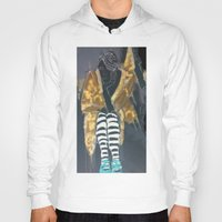 grace Hoodies featuring grace by Ashley James