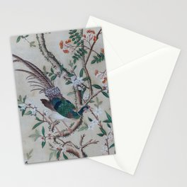 Antique Chinoiserie with Bird Stationery Cards