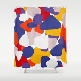 Primary Camo Shower Curtain