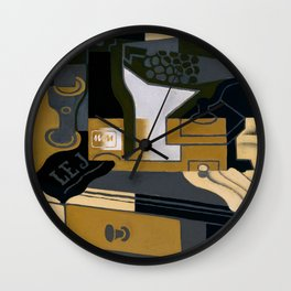 "Juan Gris ""Le moulin à café (Coffee Grinder)"" Wall Clock"