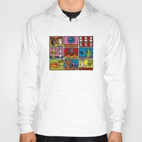 keith haring Hoodies featuring Keith Haring & star W.2 by le.duc