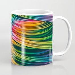 Strain Wave III. Tie-Dye Coffee Mug