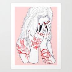 Love Loss Art Print