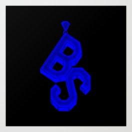 BS Pendant Art Print