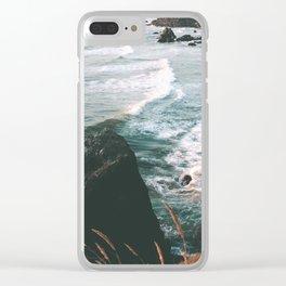 Oregon Coast IV Clear iPhone Case