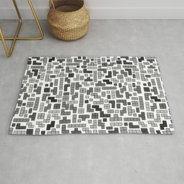 letter k - gaming blocks Rug