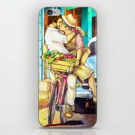 Cuba Kiss iPhone Skin