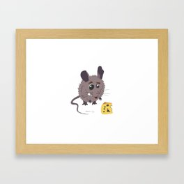 Bettina the Mouse Framed Art Print