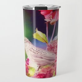 Bird Peace Garden Travel Mug