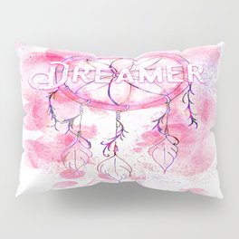 Pink and purple dreamer dream catcher Pillow Sham