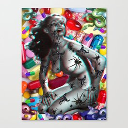 Valley Of The Dolls Canvas Print