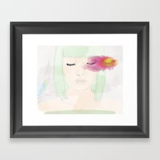 Watery Eyes Framed Art Print