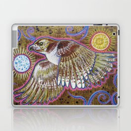 Soaring (Red-Tailed Hawk Painting) Laptop & iPad Skin