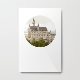 Castle Of Fairytales Metal Print