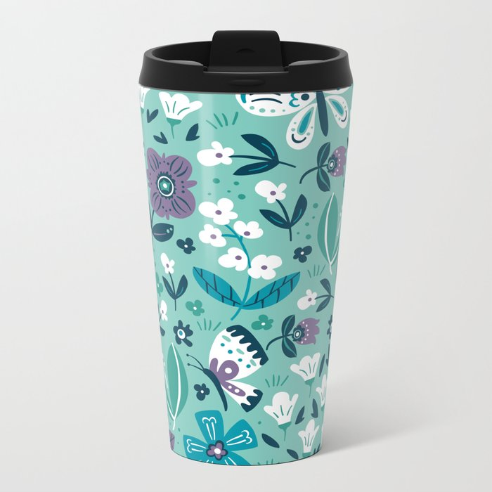 Smile & Shine Metal Travel Mug