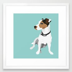 Dog - Jack Russell Framed Art Print