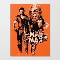 mad max Canvas Prints featuring Mad Max by leea1968