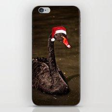Tis The Season - Swan iPhone & iPod Skin