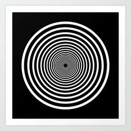 HYPNOTIZE I Art Print