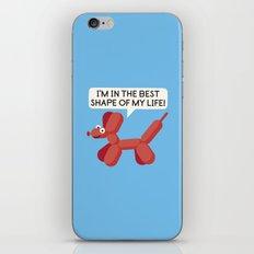 Inflated Ego iPhone Skin