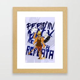 Every Once inna While Framed Art Print