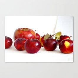 Apple Lineup Canvas Print